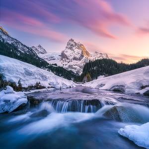 Wellhorn Switzerland print