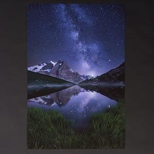Aura - Milky Way - Fine Art Hahnenmühle Print 75x50cm Museum Etching