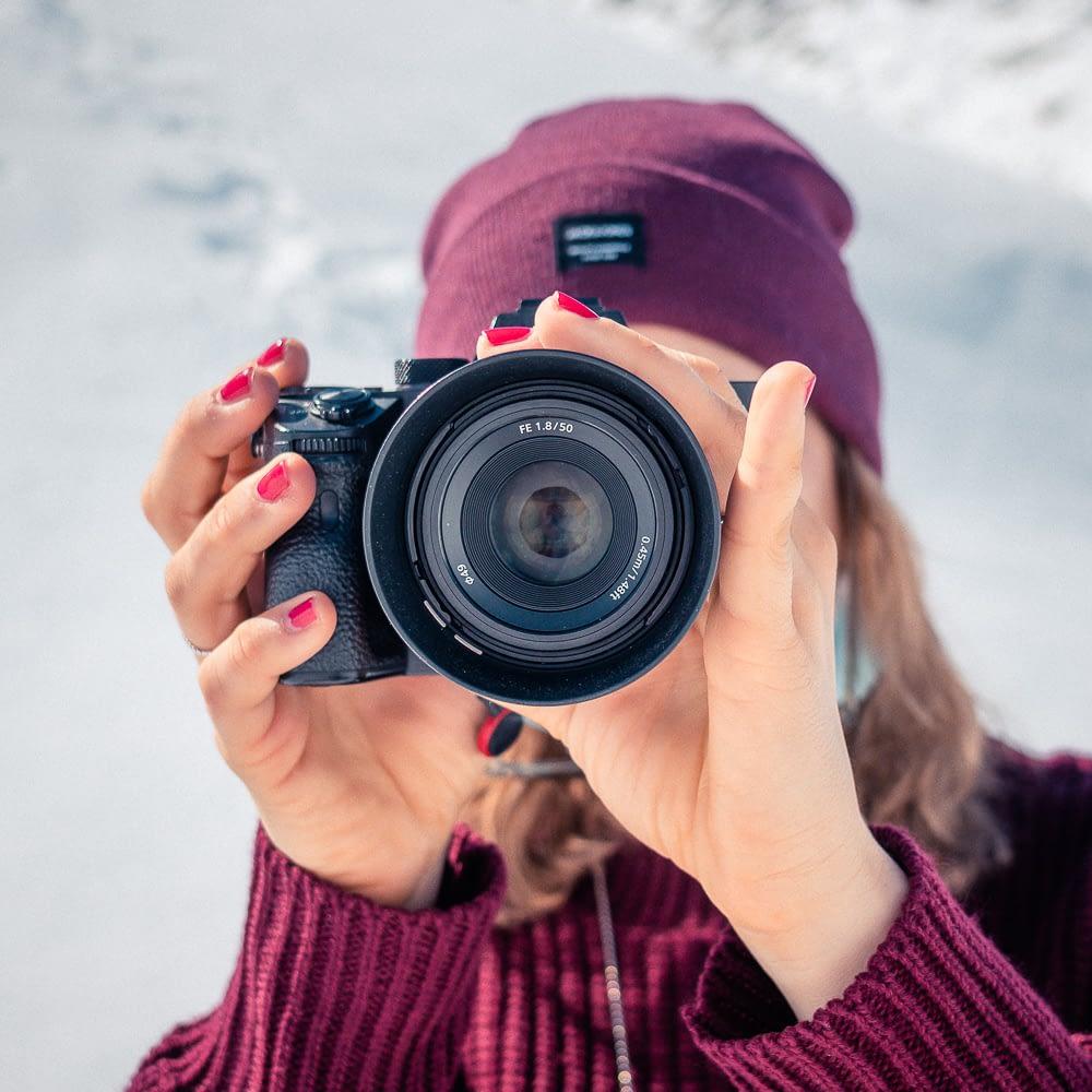 Sony 50mm F1.8 lens