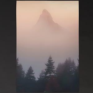 Matterhorn - Fine Art Hahnenmühle Print 75x50cm Museum Etching