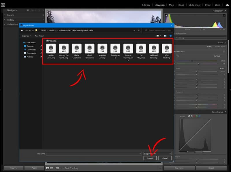 how to install lightroom presets plpictures by paedii luchs