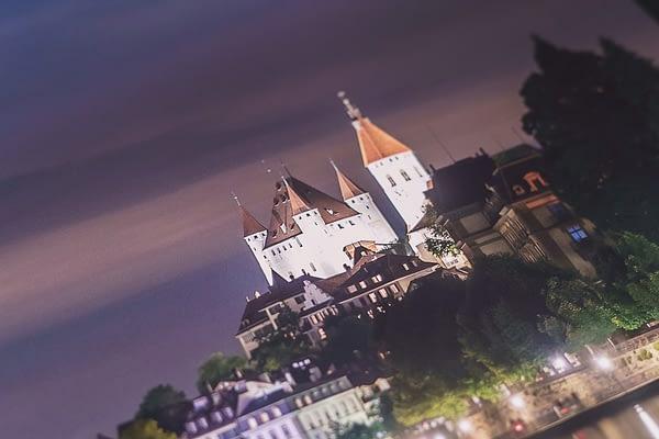 Neowise & Thun Castle - Fine Art Hahnenmühle Print 75x50cm PhotoRag