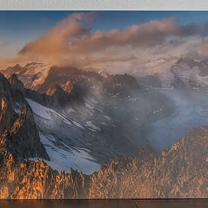 wall art print switzerland mountains