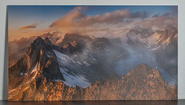 wall art print switzerland mountains