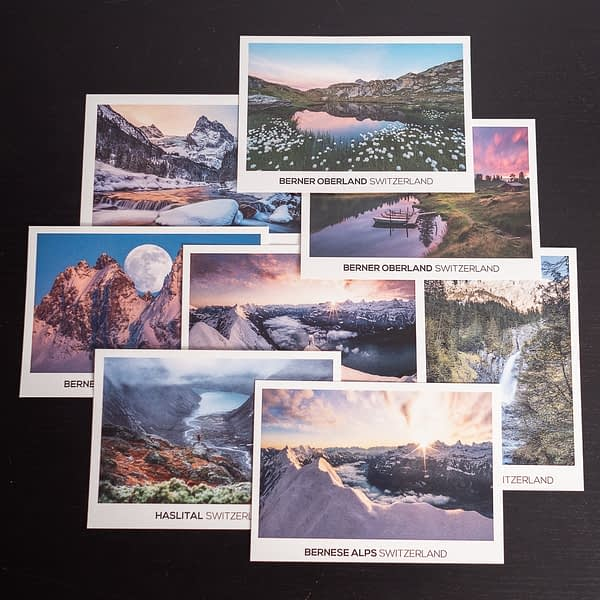 Postcards Collection bernese alps