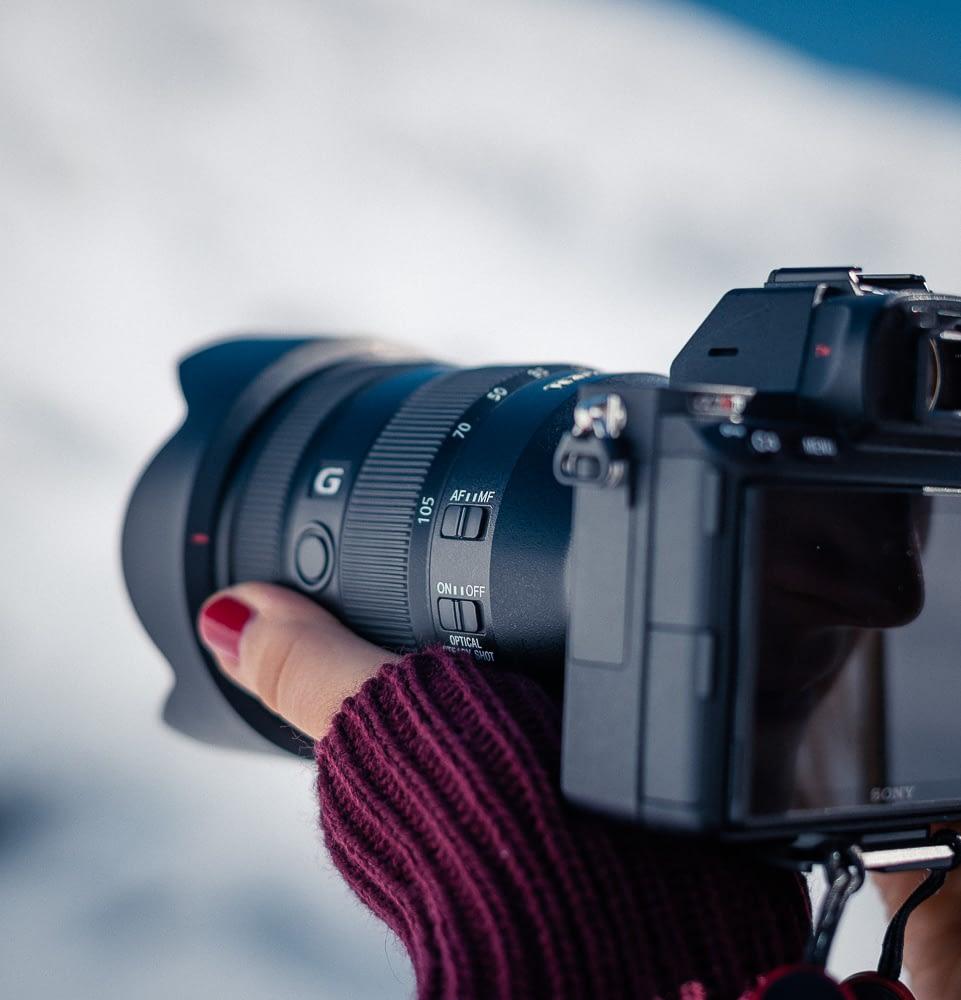 Sony 24-105 F4 lens